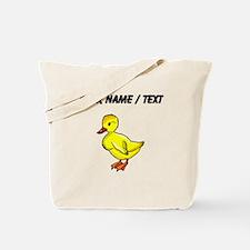 Custom Yellow Duckling Tote Bag