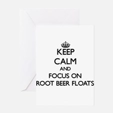 Keep Calm by focusing on Root Beer Greeting Cards