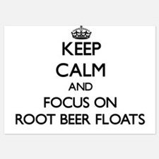 Keep Calm by focusing on Root Beer Flo Invitations