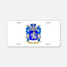 Garrison Aluminum License Plate