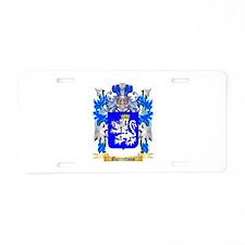 Garrettson Aluminum License Plate