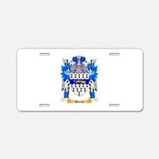 Garret Aluminum License Plate