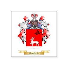 """Garibaldi Square Sticker 3"""" x 3"""""""