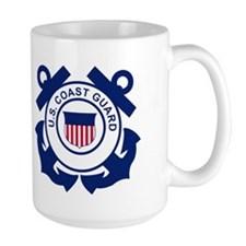 U. S. Coast Guard <BR>Large Coffee Mug