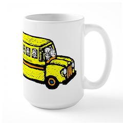 WELL Bus Large Mug