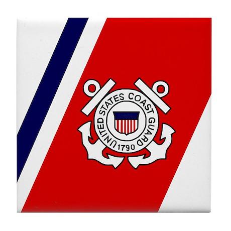 U. S. Coast Guard <BR>Tile Coaster