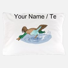 Custom Duck In Water Pillow Case