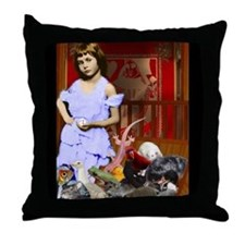 Funny Eek Throw Pillow