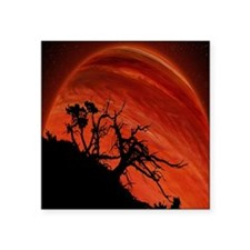 Red Planet Sticker