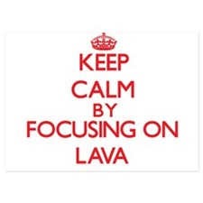 Keep Calm by focusing on Lava Invitations
