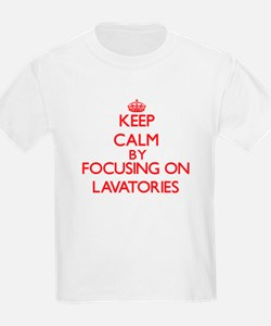 Keep Calm by focusing on Lavatories T-Shirt