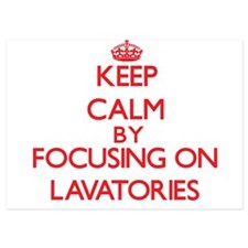 Keep Calm by focusing on Lavatories Invitations
