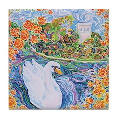 Lake Of Dreams Tile Coaster