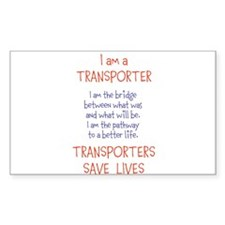 Transporter Key Chain Decal