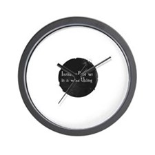 Teen Wall Clock