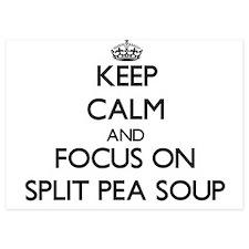 Keep Calm by focusing on Split Pea Sou Invitations