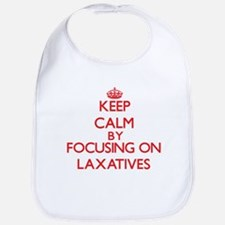 Keep Calm by focusing on Laxatives Bib
