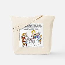 Cowboy Card Games Tote Bag