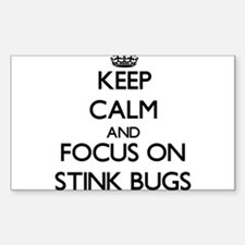 Keep Calm by focusing on Stink Bugs Decal