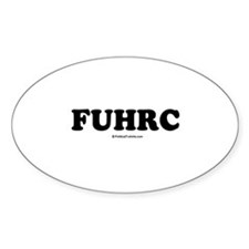 FUHRC Oval Decal