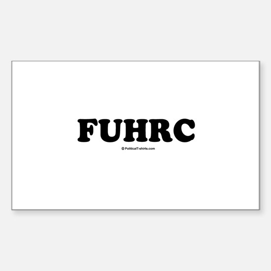 FUHRC Rectangle Decal