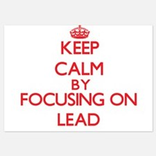 Keep Calm by focusing on Lead Invitations