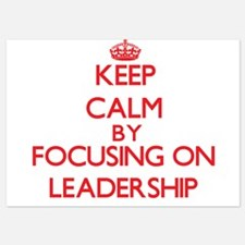 Keep Calm by focusing on Leadership Invitations