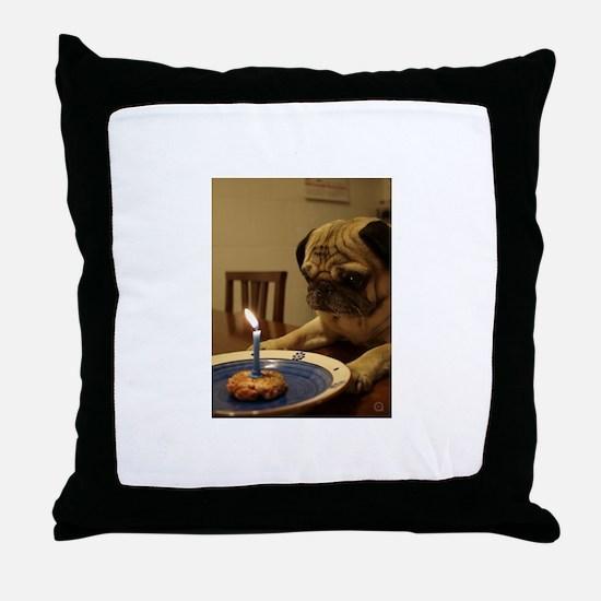 Cute Art school Throw Pillow