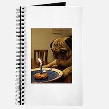 Cool Funny pug Journal