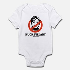 NO HILLARY: Huck Fillary Infant Bodysuit