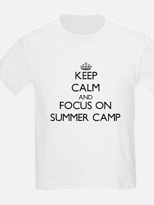 Keep Calm by focusing on Summer Camp T-Shirt