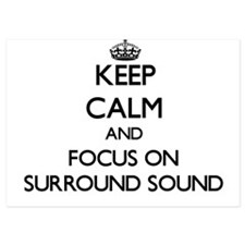 Keep Calm by focusing on Surround Soun Invitations