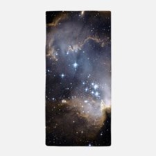 Deep Space Nebula Beach Towel