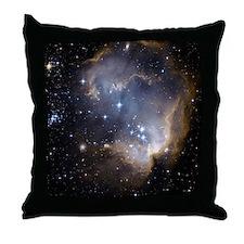 Deep Space Nebula Throw Pillow