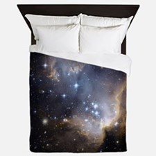 Deep Space Nebula Queen Duvet
