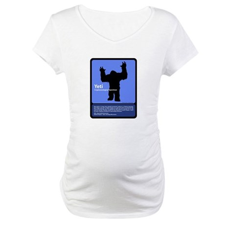 Yeti Maternity T-Shirt