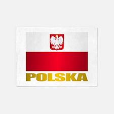 Polska 5'x7'Area Rug