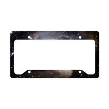 Deep Space Nebula License Plate Holder