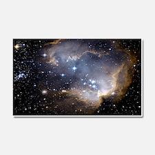 Deep Space Nebula Car Magnet 20 x 12