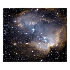 Deep Space Nebula King Duvet