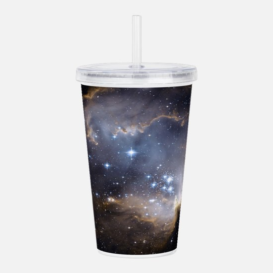 Deep Space Nebula Acrylic Double-wall Tumbler