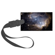 Deep Space Nebula Luggage Tag