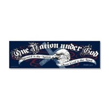 Cute God bless america Car Magnet 10 x 3