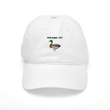 Custom Mallard Duck Baseball Baseball Cap