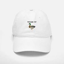 Custom Mallard Duck Baseball Cap