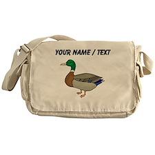 Custom Mallard Duck Messenger Bag
