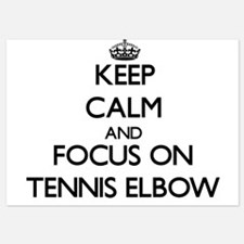 Keep Calm by focusing on Tennis Elbow Invitations