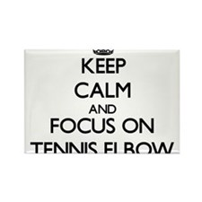 Keep Calm by focusing on Tennis Elbow Magnets