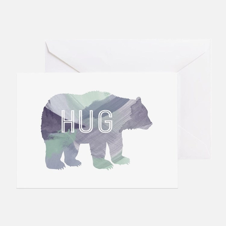 Bear Hug Greeting Cards