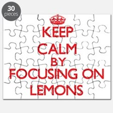 Keep Calm by focusing on Lemons Puzzle